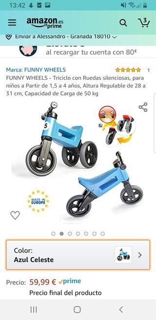 bici sin pedales 2 en 1