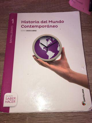 Libro se historia del mundo contemporáneo 1 BACH