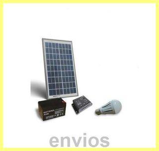 Kit solar 10 w
