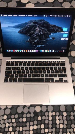 """MacBook Pro de 13 """" de 560 GB de memoria. Lo maxim"""