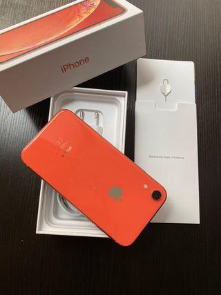 iPhone XR de 128gb de capacidad, impecable