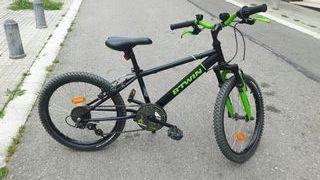 Bicicleta niño 6 - 9 años.