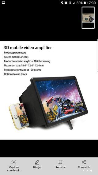 amplificador de pantalla móvil