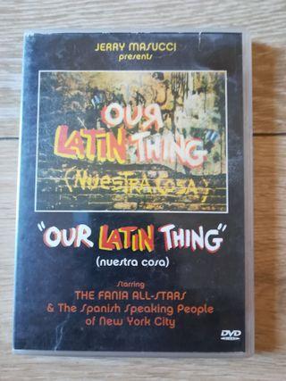 DVD original sobre los inicios de la salsa.