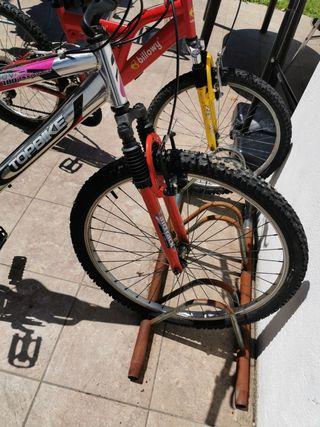 bicicleta mtb doble suspension