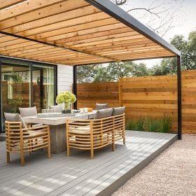 Pérgolas para jardín y terraza