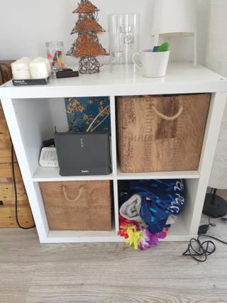 Estantería Ikea blanco almacenaje NUEVO