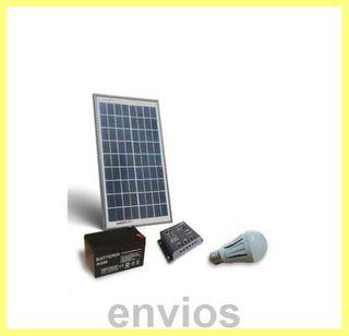 Kit solar cabaÑas 10 w