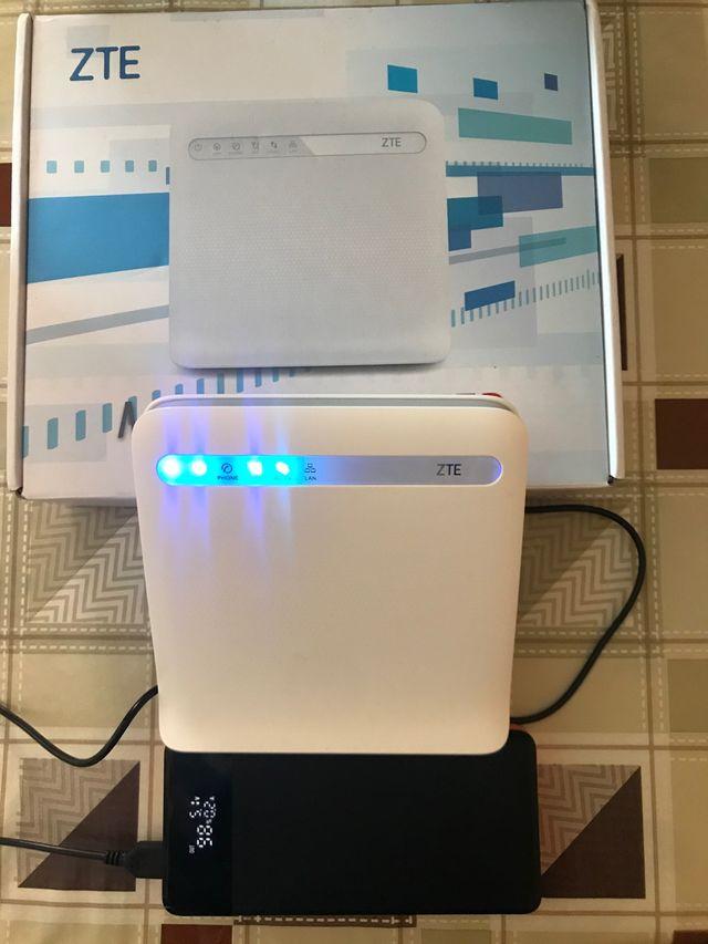 Router ZTE 3G y 4G