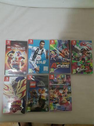 nintendo switch pack de juegos