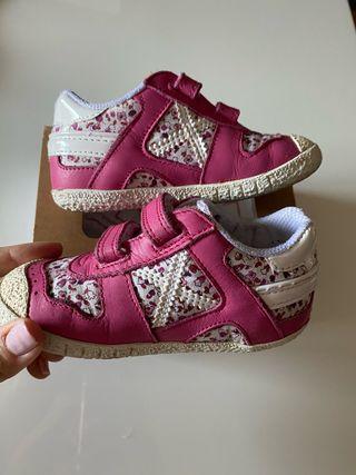 Zapatillas Munich, bebé niña, talla 23