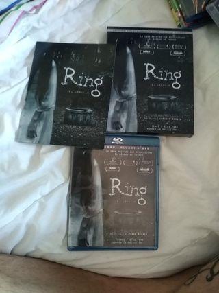 película Ring bluray i DVD edición coleccionista