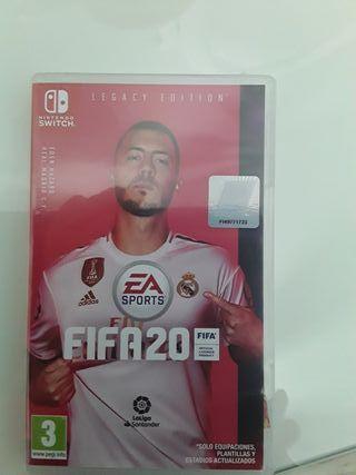 juego FIFA 20 Nintendo Switch