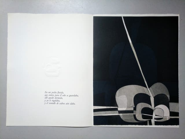 Obra gráfica original Amadeo Gabino