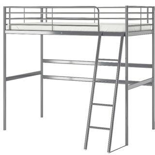 cama alta estructura litera