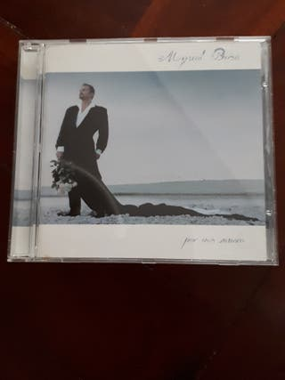 CD Miguel Bosé - Por vos muero