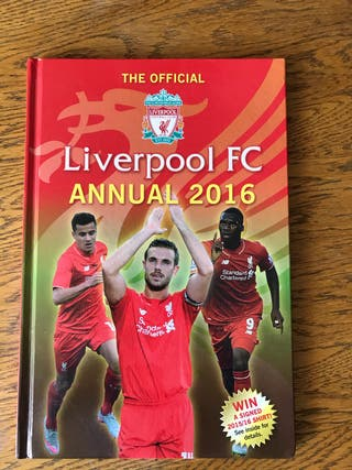 Liverpool book anual 2016