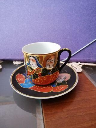 Juego de café porcelana china