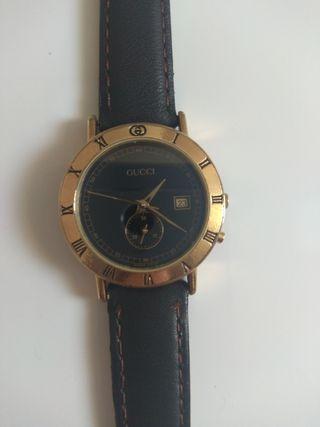 Reloj clásico de mujer, chapado en oro