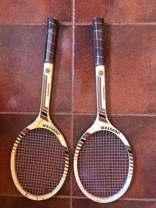 Raquetas tenis años 70