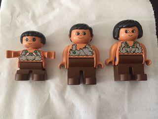 Lego Duplo familia prehistórica