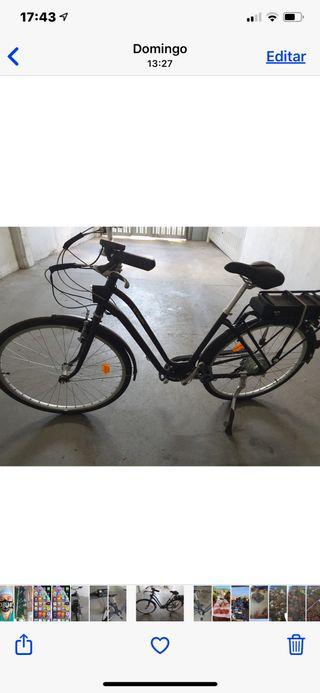 Bici eléctrica para ellas