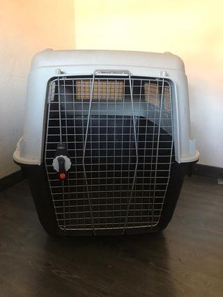 Transportin/jaula transporte para perro grande
