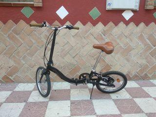 vendo bicicleta plegable Monty F17 con una revisió