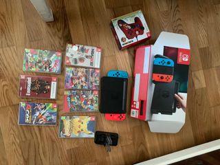 Nintendo Switch + 7 juegos
