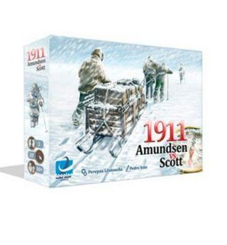 juego, juegos de mesa amundsen vs scott
