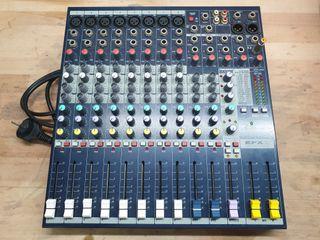 Equipo de sonido Soundcraft EFX8