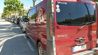 Renault Trafic camper.