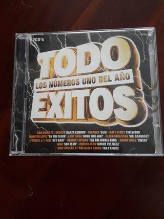 CD recopilatorio Todo éxitos 2011