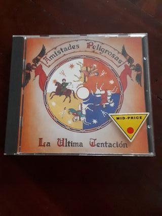 CD Amistades Peligrosas - La última tentación