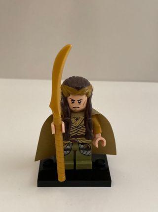Lego minifigura Elrond que elfo señor anillos