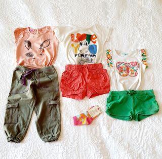 Niña T 2-3 A lote de ropa