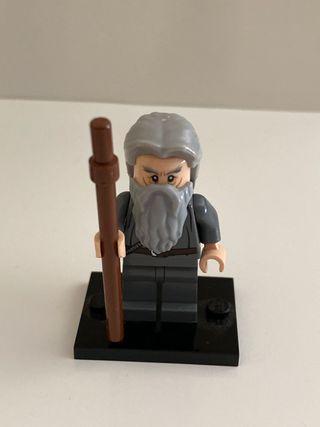 Lego minifigura gandalf el gris señor anillos