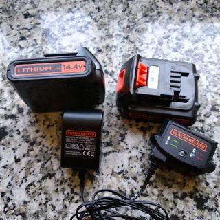 baterías de taladro