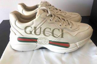 Zapatos gucci rhyton logo