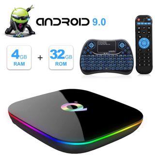 Smart tv box Q+ android 9