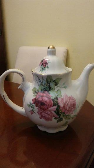 Tetera porcelana inglesa