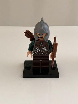 Lego minifigura soldado Rohan , señor anillos