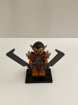 Lego minifigura soldado orco moria señor anillos