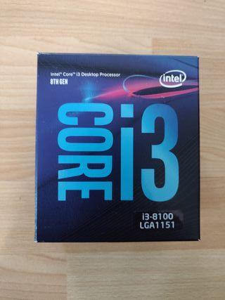 CPU Intel core i3 8100 LGA 1151 3.6 GHz - 8th gen