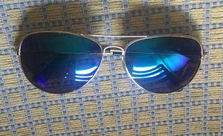 Gafas espejo estilo aviador