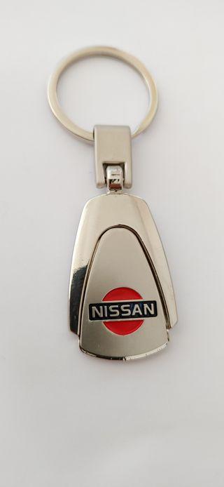 Llavero Nissan aleación de zinc inoxidable
