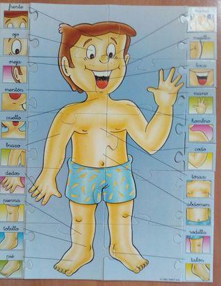 puzzle, puzle, rompecabezas usado infantil