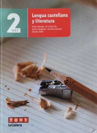 Lengua castellana y literatura 2 Batxillerato