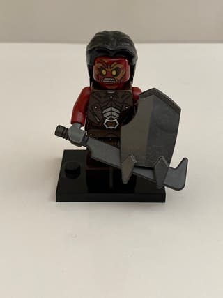 Lego minifigura Uruk hai Orco moría señor anillos