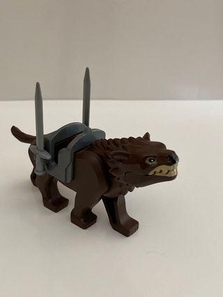 Lego minifigura Lobo Warg orco moria señor anillos